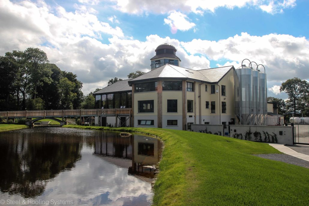 Walsh S Distillery Carlow Ireland Steel And Roofing
