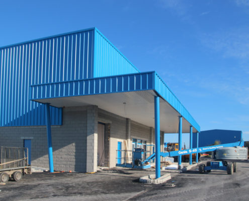 K Steel Galway Pharmaceutical – Steel and Roofing Systems