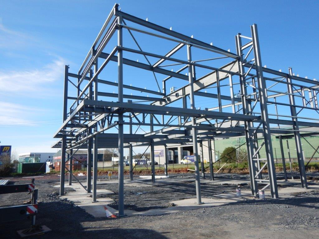 Supermac S Ballysimon Site Progress Steel And Roofing