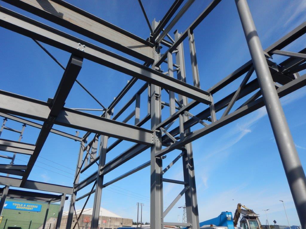 Supermac S Ballysimon Site Progress Steel And Roofing