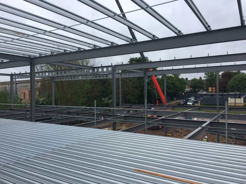 Alltech Site Progress Steel And Roofing Systems